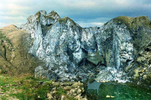 Rock salt. Solotvyno
