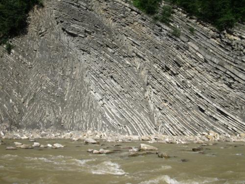 Striyska Suite flysch (gothic-type folds)