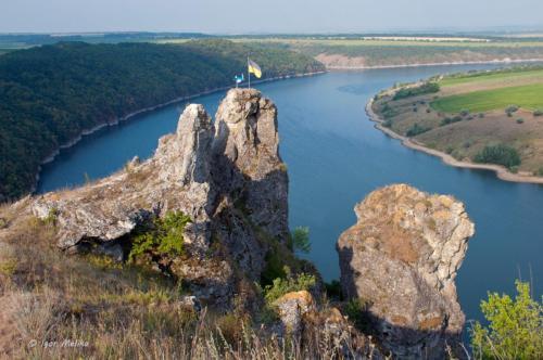 Shyshkovi hills in Nagoryany