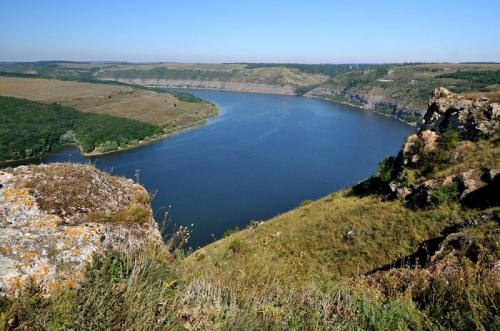 Dnisterskiy canyon